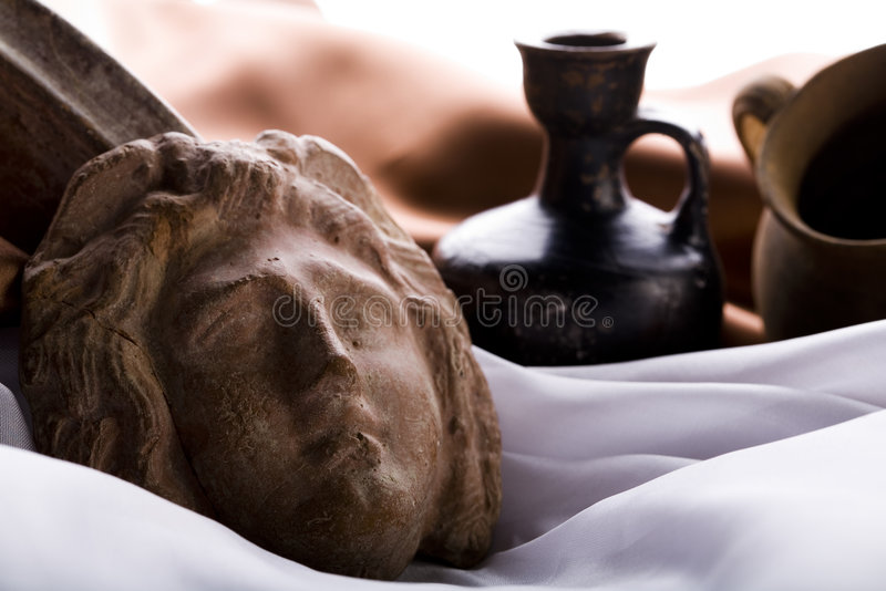 Antiquity. Old fashioned object antiquity box royalty free stock photos