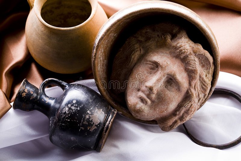 Antiquity. Old fashioned object antiquity box stock photography