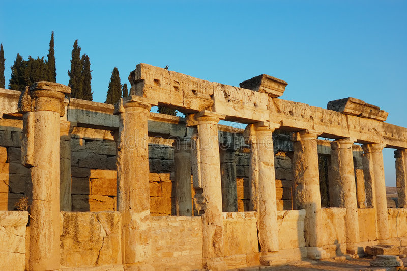 Antiquity construction. For background desktop royalty free stock photography