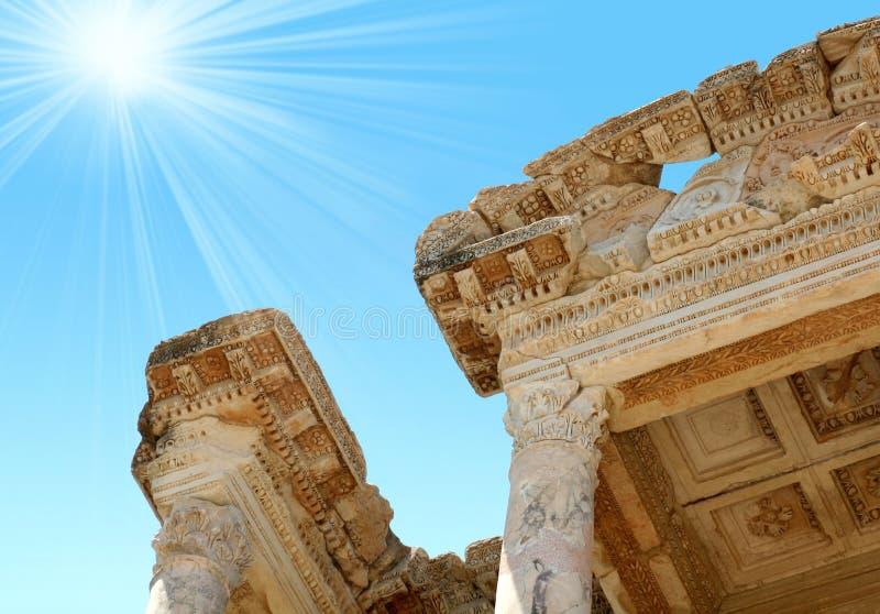 Download Antiquity Greek City- Ephesus Stock Image - Image: 5069537