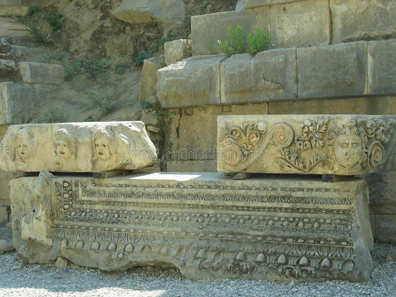 Antiquity in Turkey royalty free stock photos