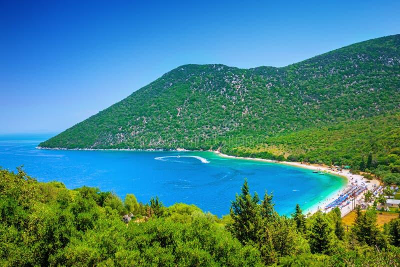 Antisamos plaża zdjęcie stock