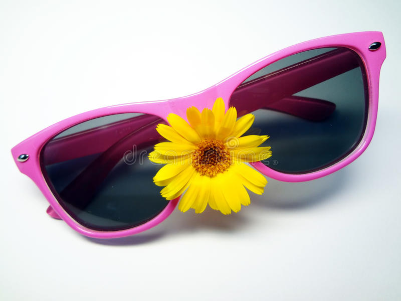 Antisun glasses royalty free stock image