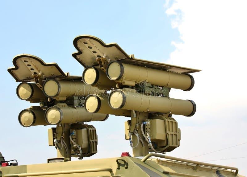 Antitank raketsysteem stock afbeeldingen