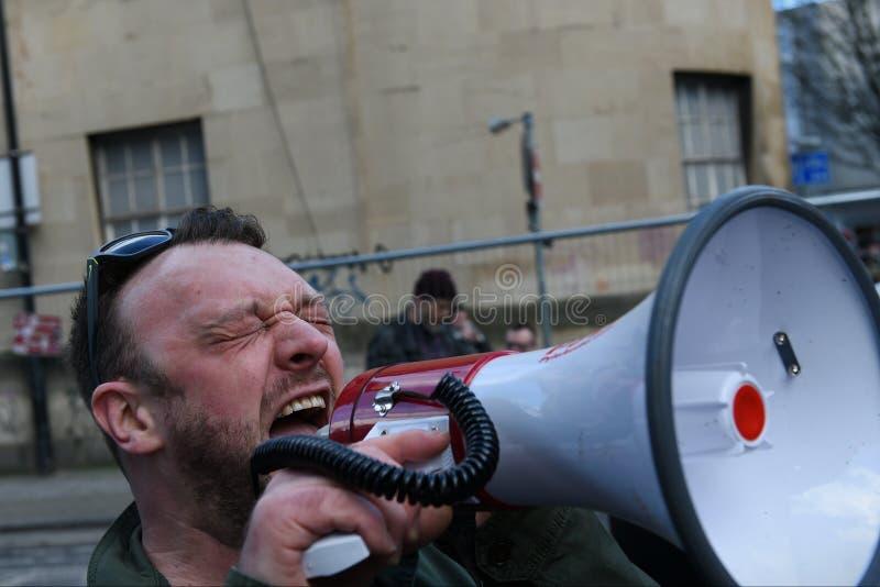 Antitrumpf-Protest lizenzfreie stockfotografie