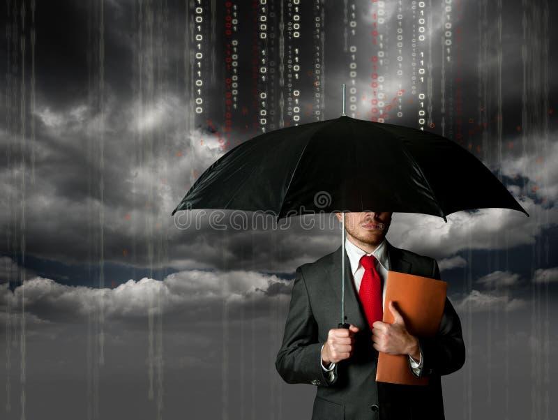 Antivirus en firewallconcept royalty-vrije stock foto's