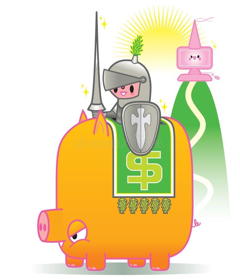 antivirusbilligt pris royaltyfri illustrationer