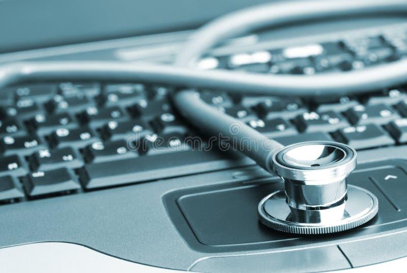 Antiviruskonzept stockfoto