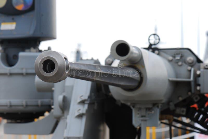 Antivliegtuigenkanon royalty-vrije stock foto