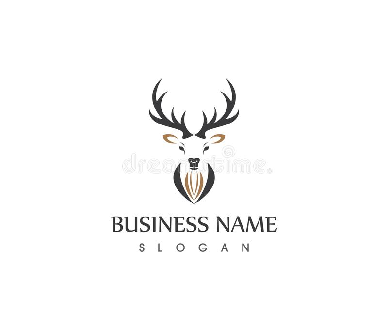 antler logo template clipart library