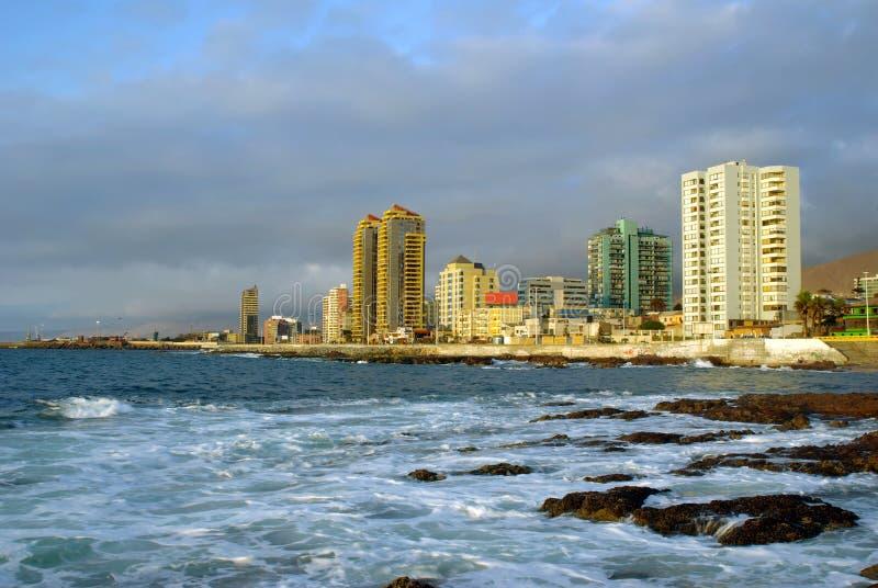 antofagasta chile royaltyfria bilder