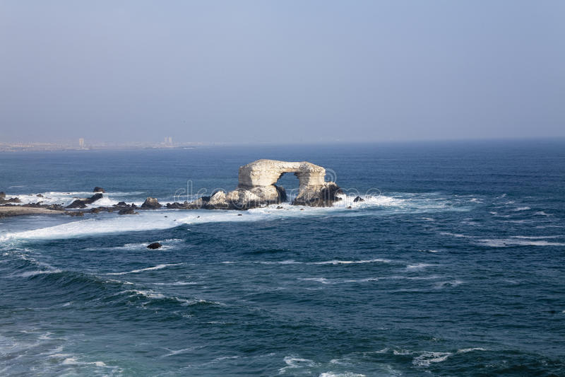 Download Antofagasta coast in Chile stock photo. Image of rocks - 10626212