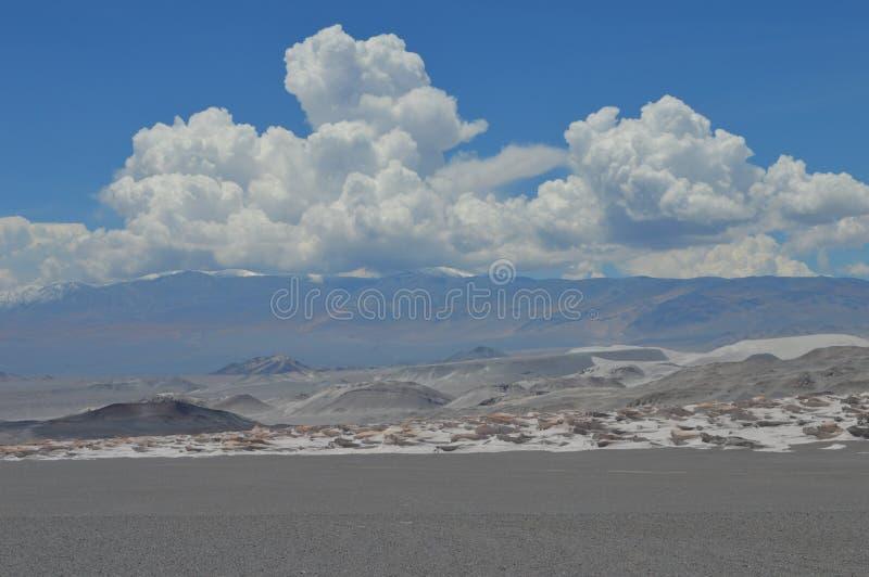 Antofagasta de la Sierra fotografía de archivo libre de regalías