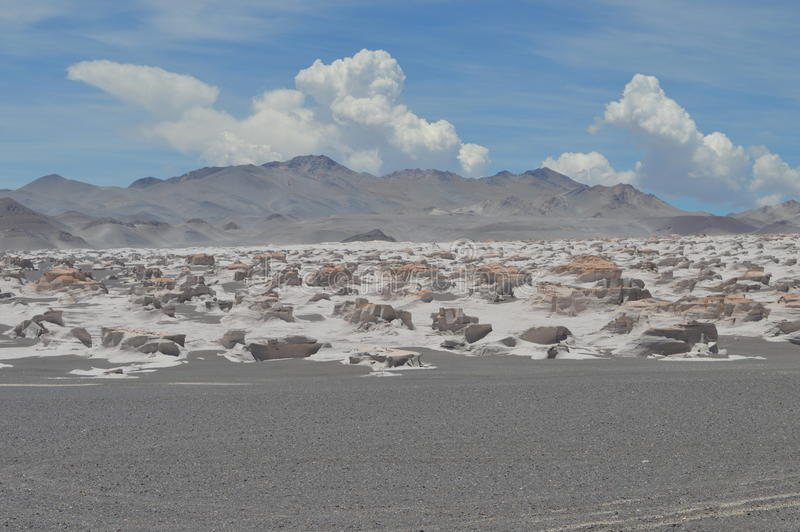 Antofagasta De Los angeles Sierra obrazy stock