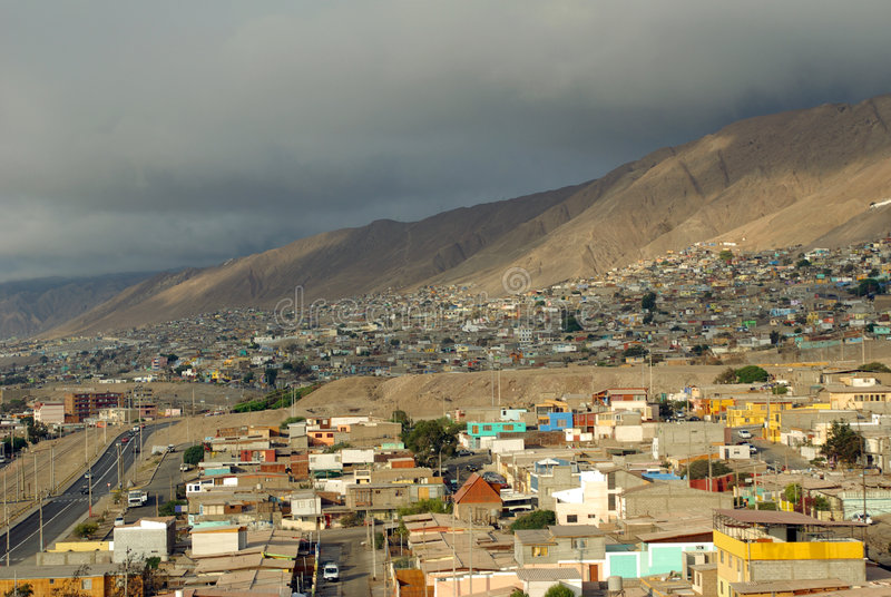 Antofagasta, o Chile foto de stock royalty free
