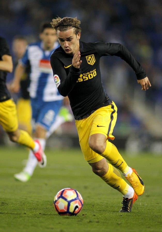 Antoine Griezmann van Atletico DE Madrid stock foto