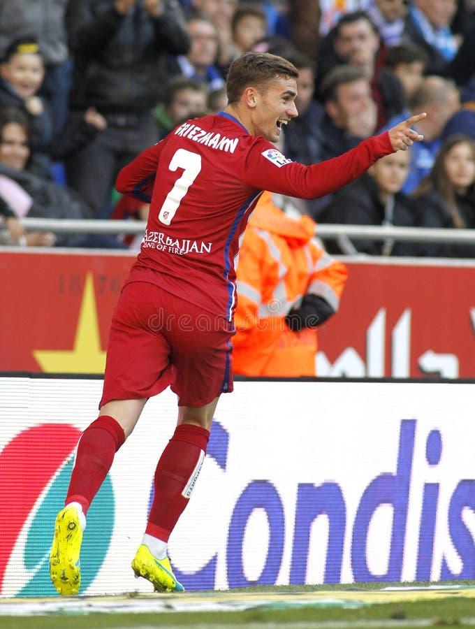 Antoine Griezmann van Atletico Madrid stock fotografie