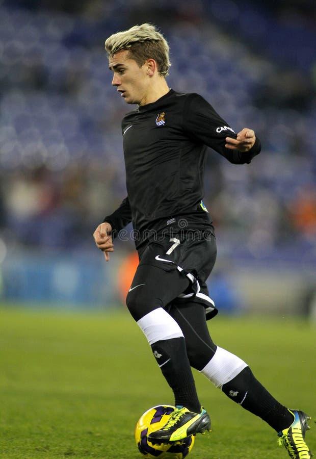 Antoine Griezmann von Real Sociedad lizenzfreies stockfoto