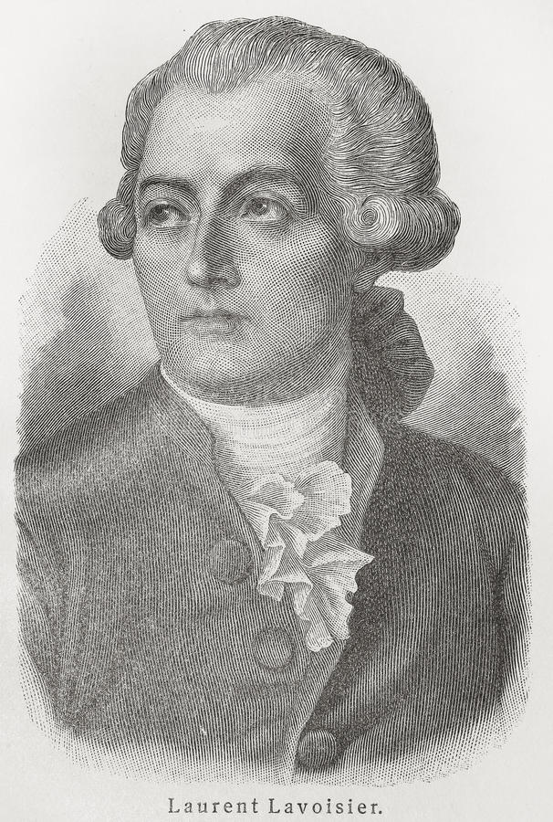 Antoine-Laurent de Lavoisier. (1743 - 1794) was a French nobleman prominent in the histories of chemistry and biology. He found and termed both oxygen (1778)