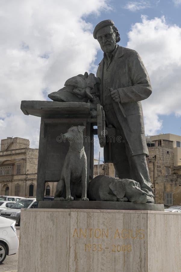 Anton Agius zabytek Rabat zdjęcia royalty free