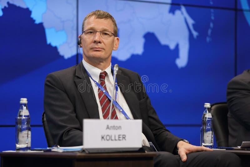 Anton Koller стоковое изображение rf