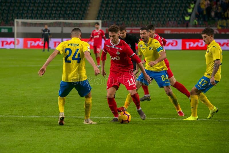 Anton Miranchuk 11 zwischen Rivalen stockbild