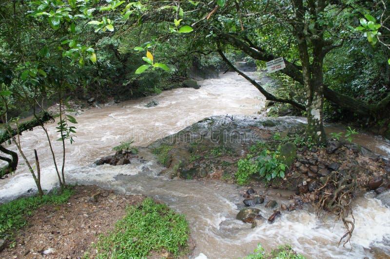 Anton River - EL Valle de Anton, Panama fotografie stock