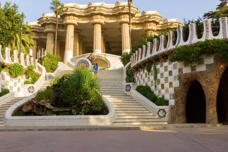 Antoni Gaudi in Barcelona, Spain. royalty free stock photos