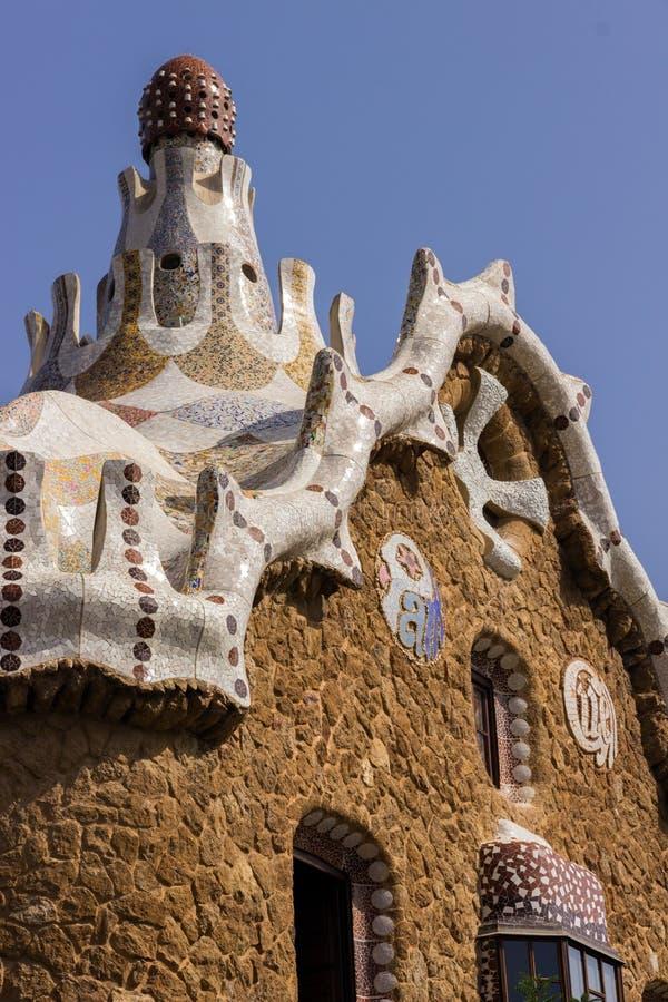 Antoni Gaudi in Barcelona, Spain. royalty free stock images