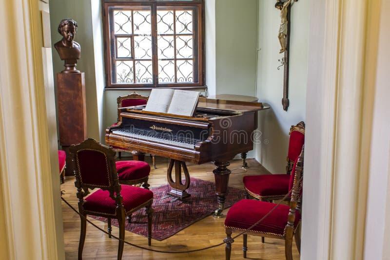 Antonin Dvorak Museum à Prague image libre de droits