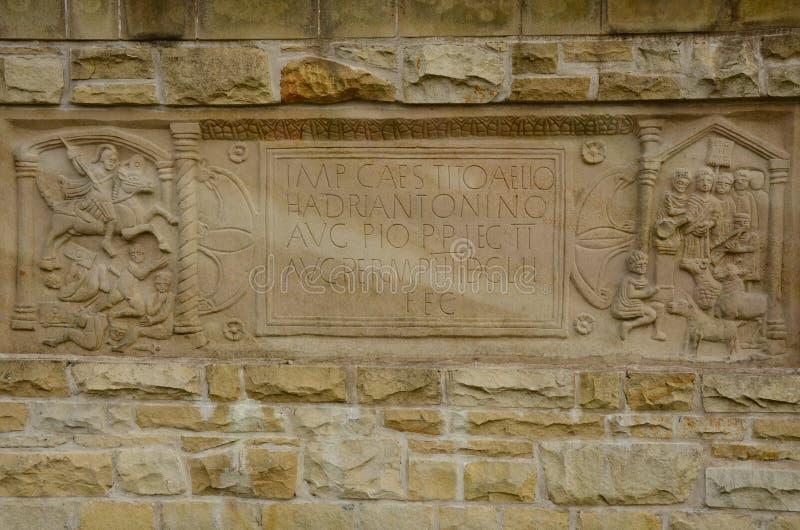 Antonine墙壁 库存图片