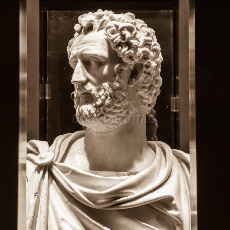 Antoninus Pius (86-161, królowanie 138-161) zdjęcie royalty free