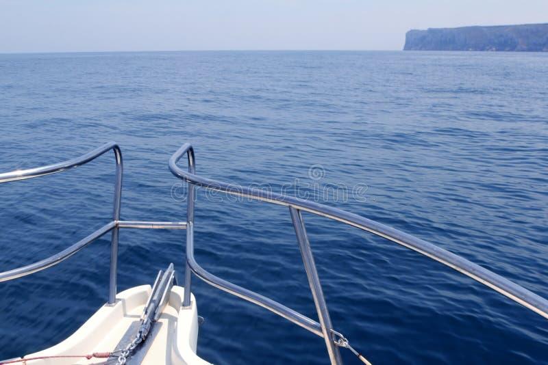 antonio łódkowaty łęku przylądek śródziemnomorski San obrazy stock