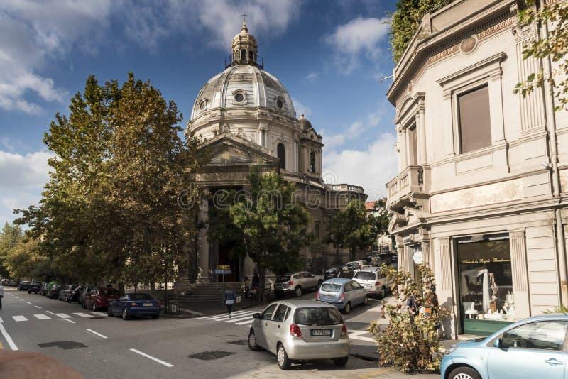 ` Antonio Abate Messina Italy de Chiesa di Sant foto de archivo libre de regalías