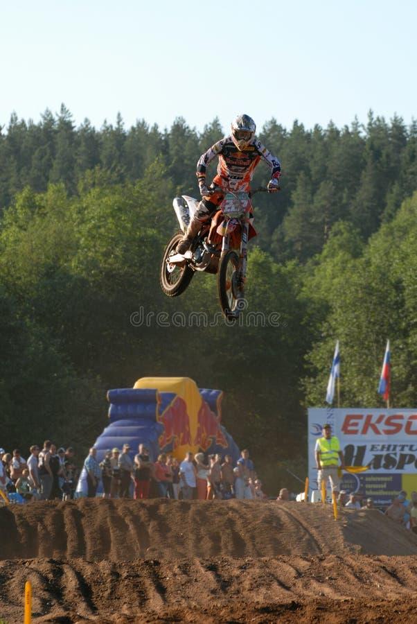 Antonio Cairoli em Estónia 29.06.2010 fotos de stock