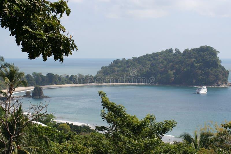 antonio costa rica manuela parku narodowego fotografia stock