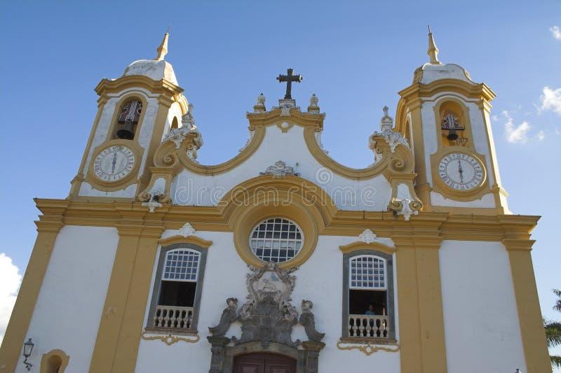 antonio De Matriz Kościoła santo tiradentes obraz stock