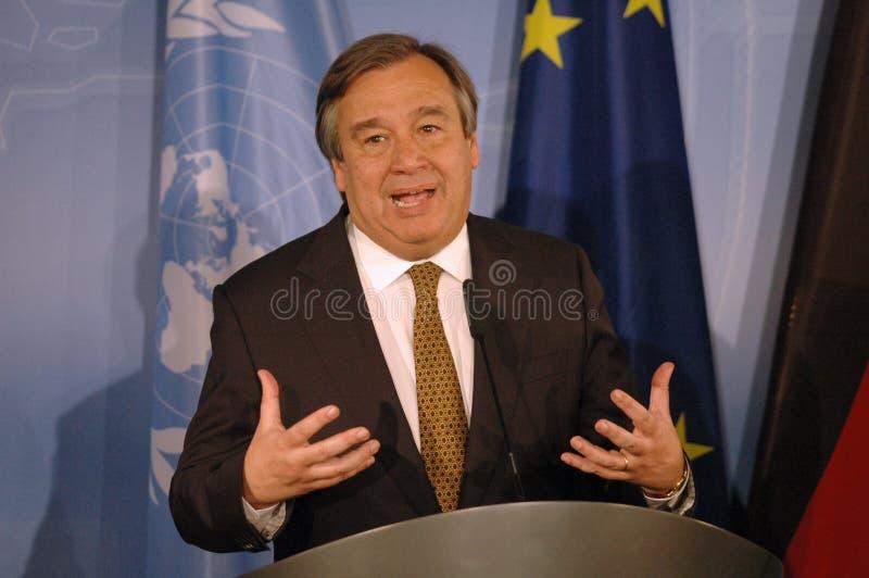 Antonio Guterres fotos de archivo libres de regalías