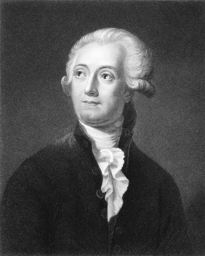 Antonio Lavoisier fotografía de archivo libre de regalías