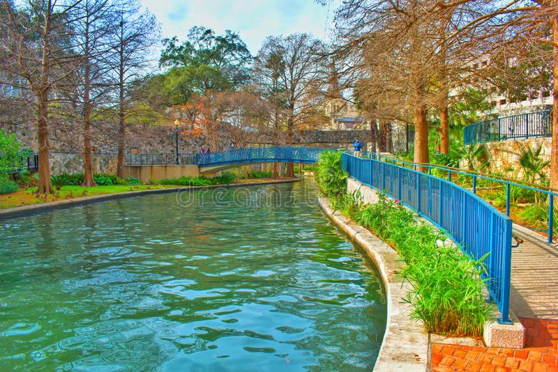antonio riverwalk圣・得克萨斯 免版税库存图片