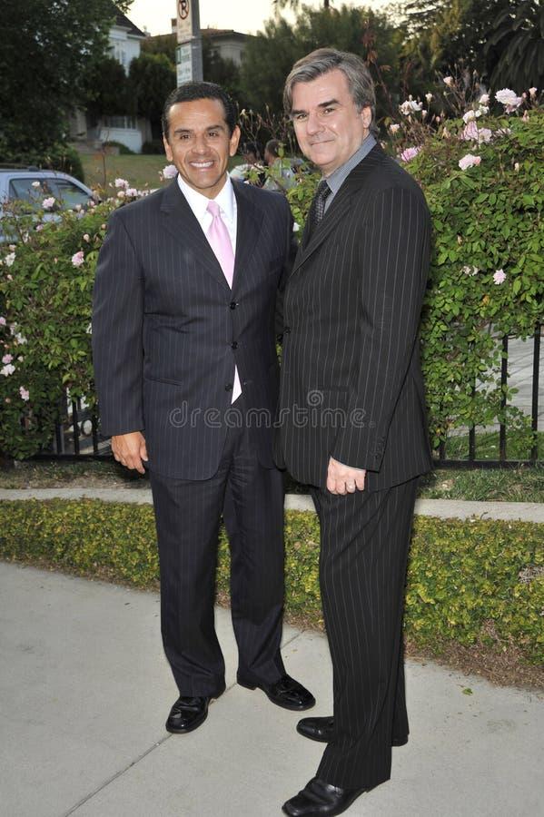 Antonio Villaraigosa, sindaco Antonio Villaraigosa fotografie stock libere da diritti