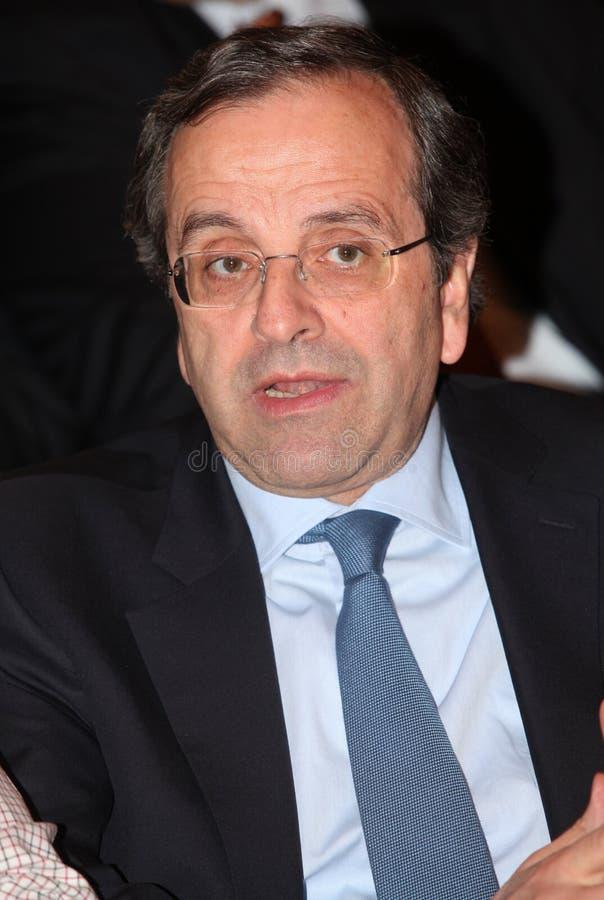 Antonis Samaras obrazy royalty free