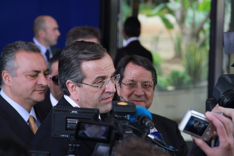 Antonis Samaras obraz royalty free