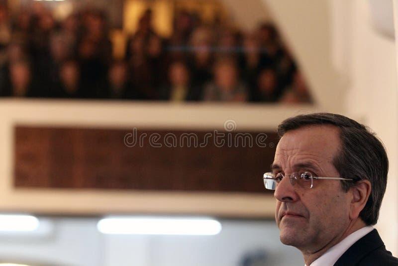 Antonis Samaras photos libres de droits
