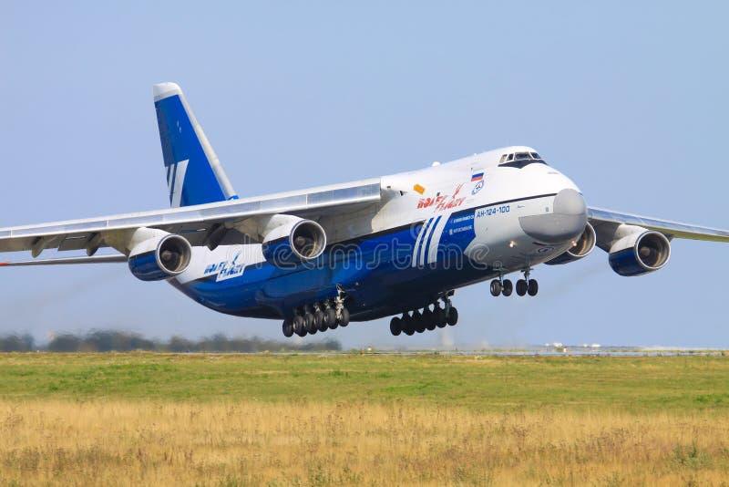 Antonov An124 imagens de stock
