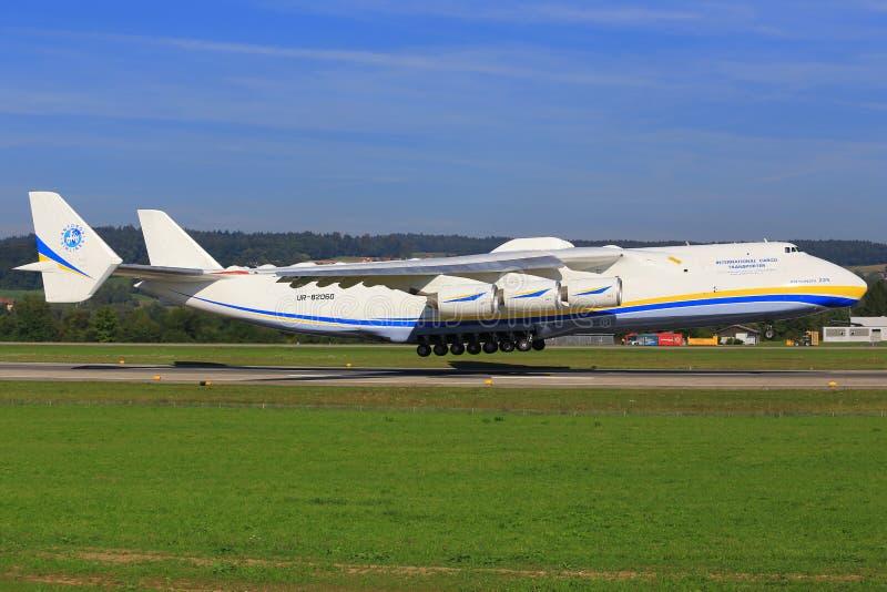 Antonov 225 imagem de stock