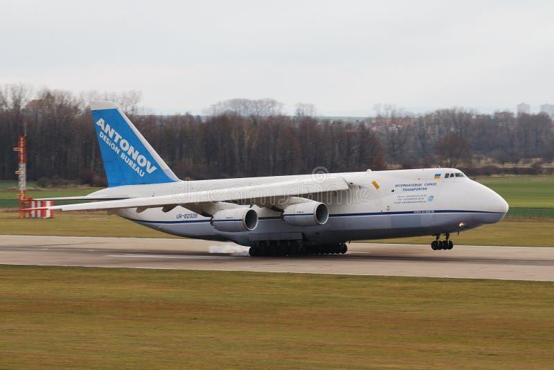 Antonov AN-124 Ruslan arkivfoton