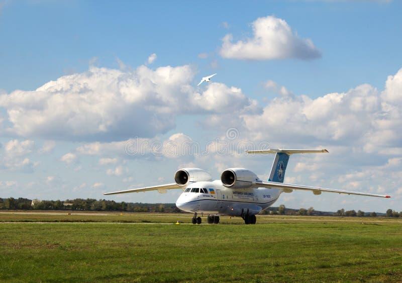 Antonov An-158 Redaktionelles Stockfoto