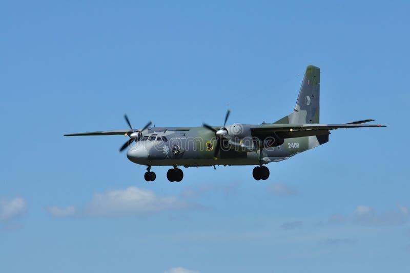 Antonov AN-26 royaltyfria bilder