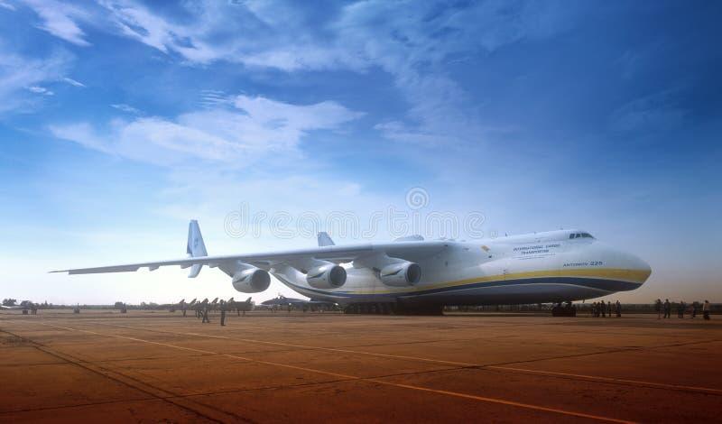 Antonov 225 fotografie stock libere da diritti